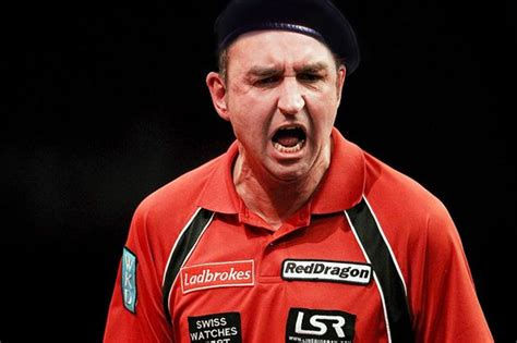 Richie Might Be With Something by Richie Burnett Might Be The Frank Spencer Of Darts But He
