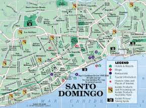 santo map santo domingo map map