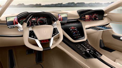 design interior of car 2012 italdesign brivido studios