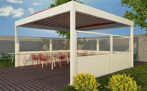 gazebo esterno per bar paraventi modulari per esterno per bar dehors gelaterie