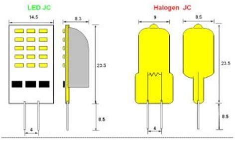15 led jc capsule g4 base