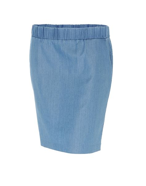 shop opus denim skirt raggy washed