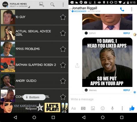Meme Face App - facebook messenger now supports apps here s why it matters