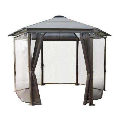 aluminium gazebo gazebos sheds garages outdoor storage the home depot
