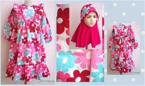 Baju Pesta Anak Keren 10 contoh model baju batik muslim anak terbaru terbaik