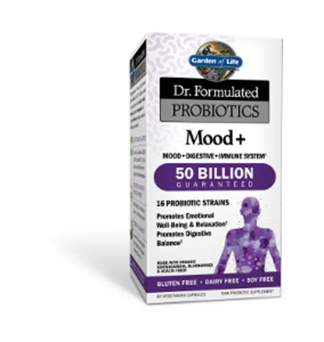 Garden Of Probiotics Mood Garden Of Dr Formulated Mood Plus Probiotic 60 Caps