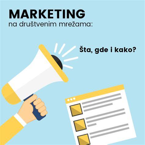 layout na blog ke sta ení marketing na društvenim mrežama šta gde i kako
