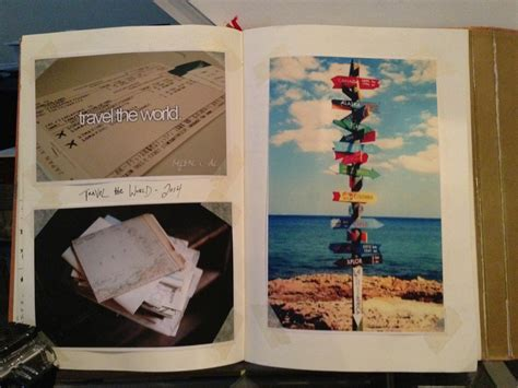 Book Your Travel To Dreamland by Peek Inside Corey S Book Or How A Journal Can