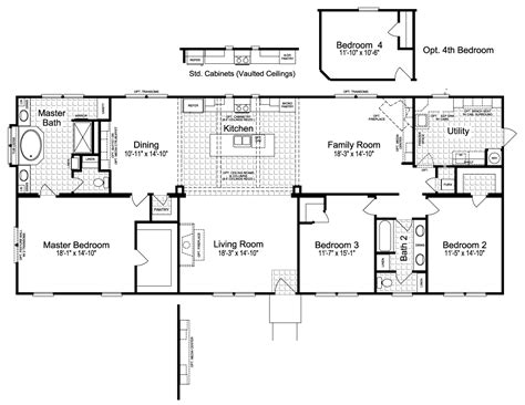 palm harbor mobile home floor plans view the sonora ii floor plan for a 2356 sq ft palm harbor