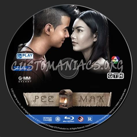 download film pee mak bluray pee mak blu ray label dvd covers labels by