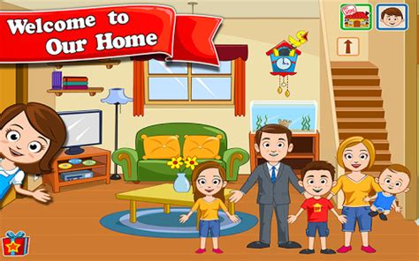 play design this home free online my town home dollhouse 4 4 دانلود بازی شهر من خانه