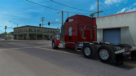 kenworth truck w900 kenworth w900 update ats mods american truck simulator