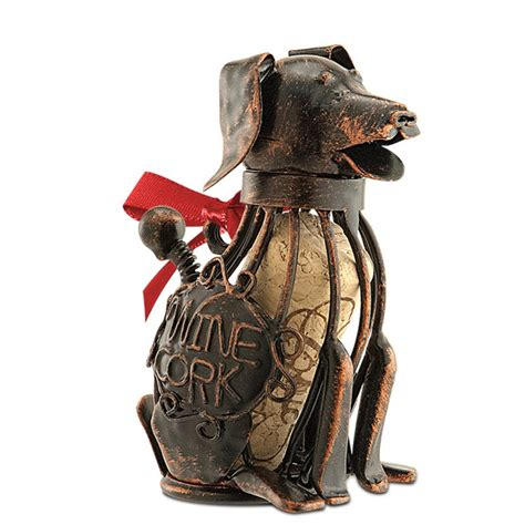 dog houses cork corky the dog cork cage bottle ornament everythingbutwine com