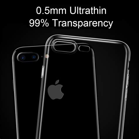Iphone 7 Ultra Thin Tpu ultra thin tpu for iphone 7 8 transparent