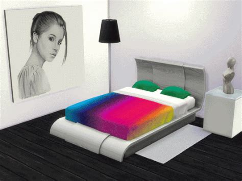 rainbow bed akisima sims blog rainbow beds sims 4 downloads