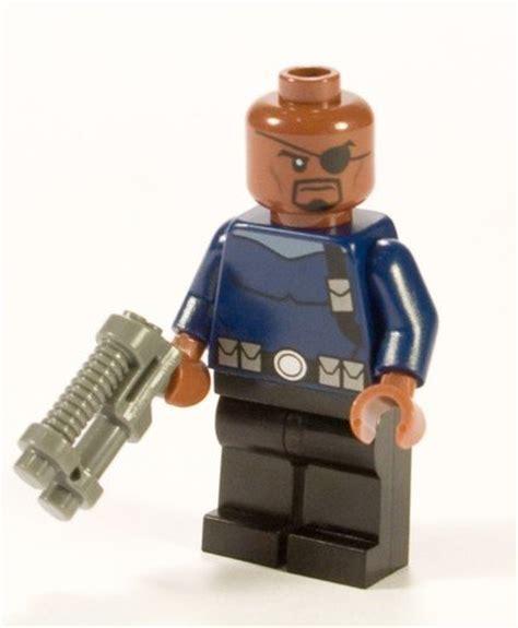 Lego Kw Lebq Nick Fury lego heroes nick fury minifigure