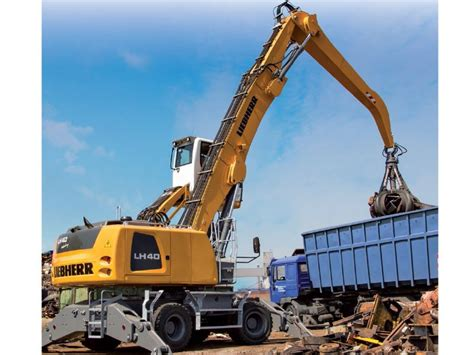 new liebherr lh 50 m material handler excavators for sale