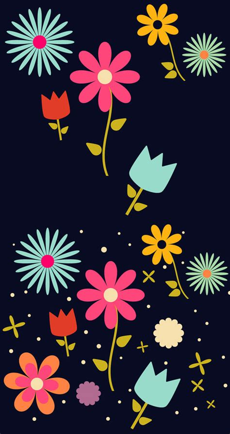 pattern flowers illustrator create an easy field of flowers pattern design in adobe