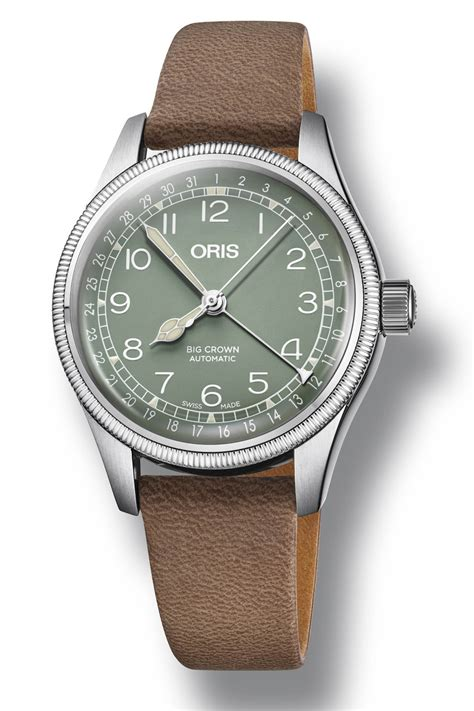 Oris Big Crown Pointer Date baselworld 2018 oris big crown pointer date steel 36mm