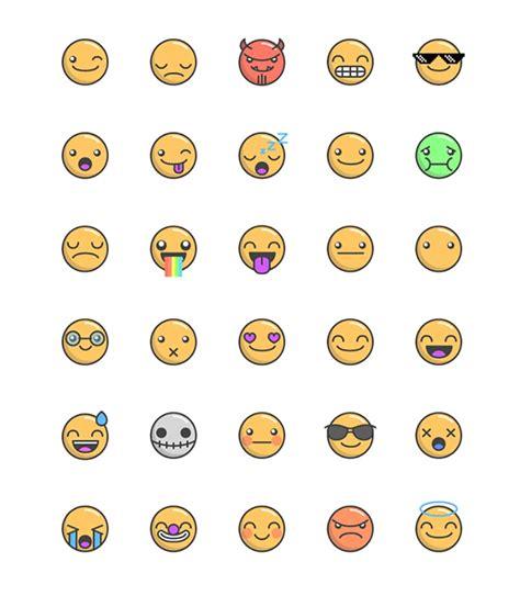 best free emoticons 20 best free emoji icon sets to graphiceat