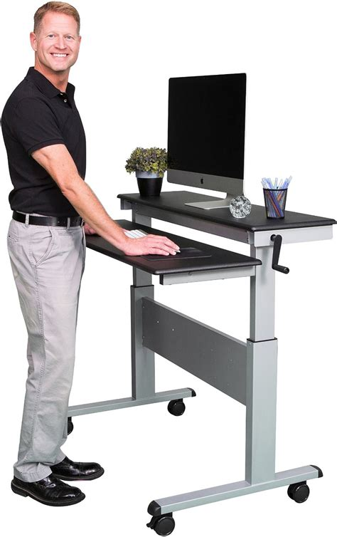 standing up desk workstation health benefits