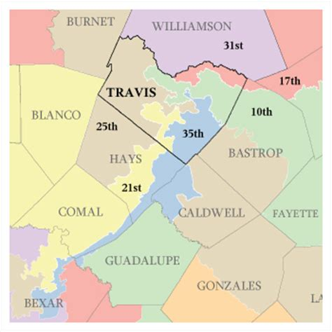 texas 25th congressional district map for texas house district 47