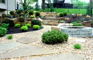 river rock landscaping ideas home decorating and tips