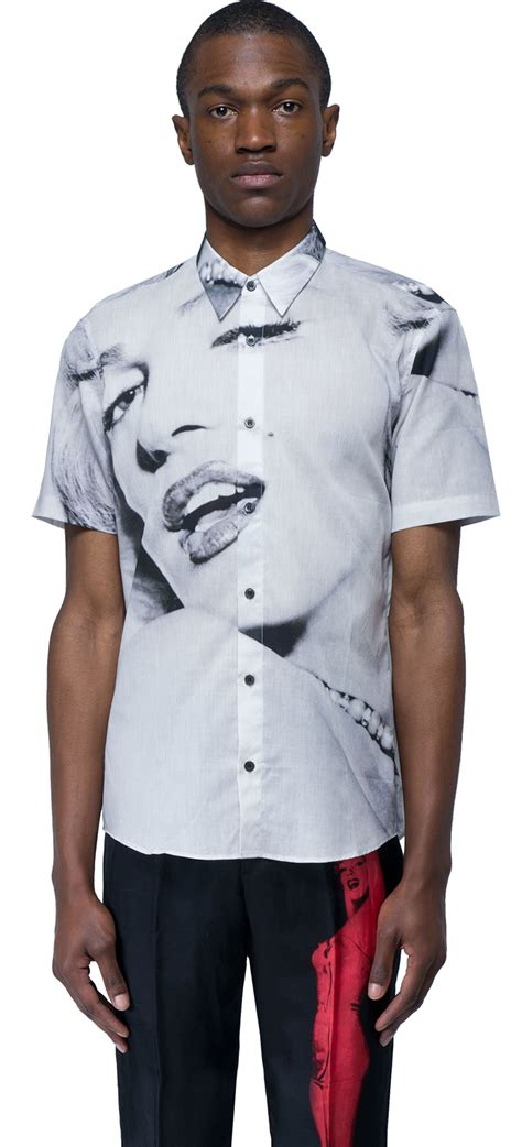 dries noten marylin t shirt in white for lyst