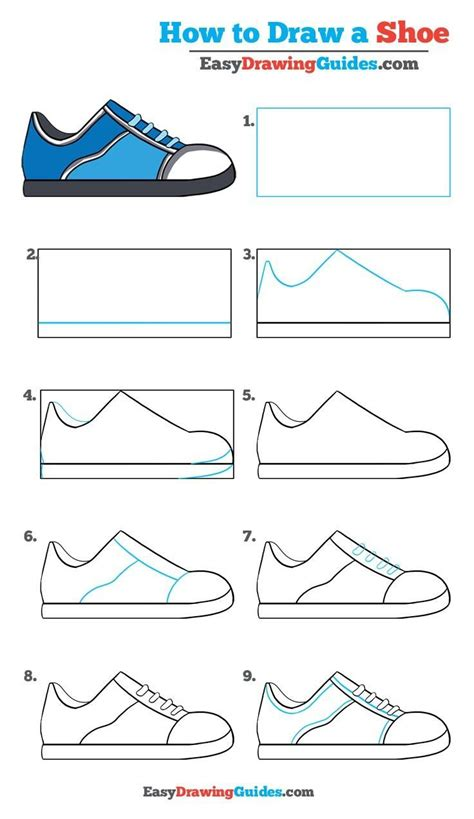 how to draw a shoe step by step for best 25 easy drawings ideas on simple