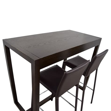 Dining Table With Bar Stools by 88 West Elm West Elm Bar Table With Bar Stools Tables