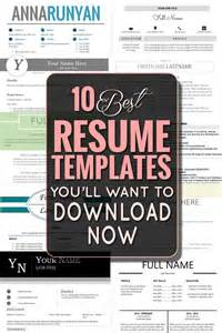 Best Job Resume Templates by 25 Best Ideas About Best Resume Template On Pinterest