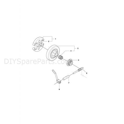 husqvarna 445 chainsaw parts diagram husqvarna 445e chainsaw 2011 parts diagram clutch