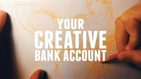 your bank account your creative bank account thinking animation