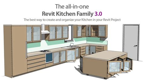 Revit Kitchen Cabinet Family Revit Content All In One Revit Door Family 3 0 New Features And Great Improvements