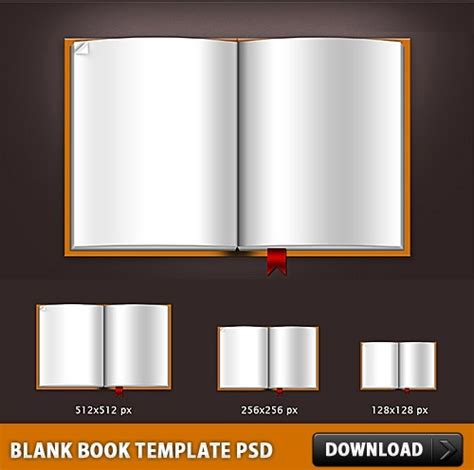 free download templates for books blank book template psd file free psd in photoshop psd