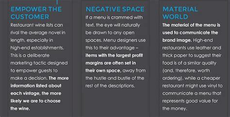 menu layout psychology the 14 tricks restaurants use on their menus to make