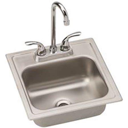 Dayton Bar Sink by Elkay Dayton Single Bowl Bar Sink Kit Elite Satin