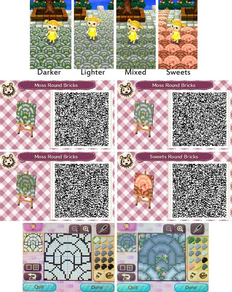 brick pattern new leaf 1000 images about animal crossing new leaf qr codes for