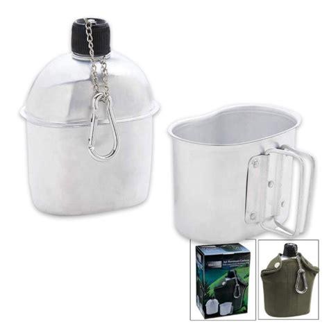 hydration kennesaw trailblazer 1 quart aluminum canteen kit kennesaw cutlery