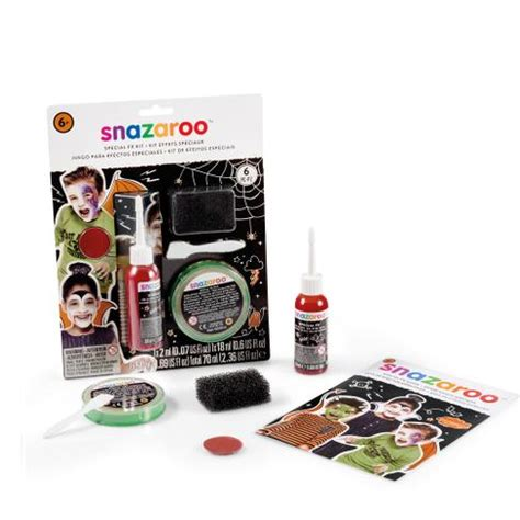 Snazaroo Leopard Painting Kit special fx paint kit snazaroo co uk