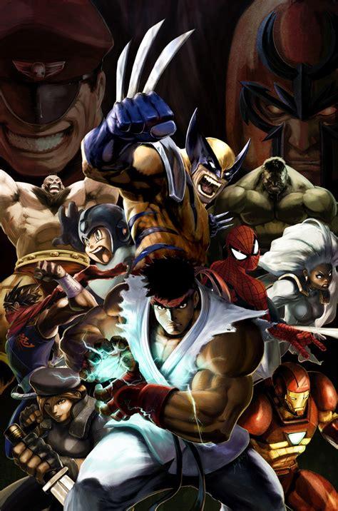 Marvel Vs Capcom Live Wallpaper by Marvel Vs Capcom 2 Promo By Udoncrew On Deviantart