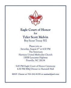 Eagle Scout Court Of Honor Invitation Template by Eagle Scout On Eagle Scout Eagle Scout