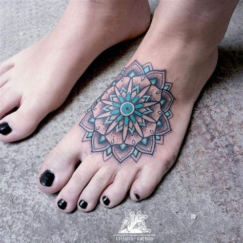 mandala ankle tattoo 50 mandala design ideas nenuno creative