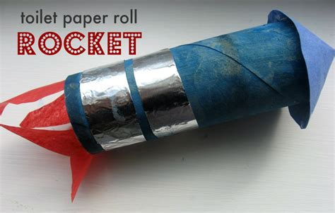How To Make With Toilet Paper Roll - toilet paper roll rocket