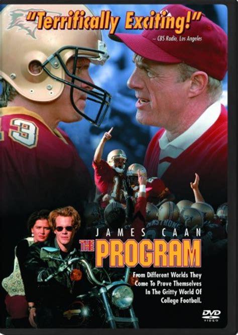 film motivasi american football the program college football film james caan dvd us