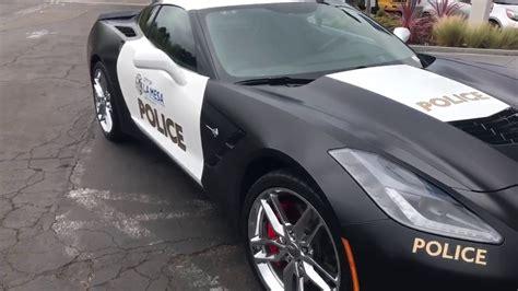 police corvette stingray stingray corvette police car youtube