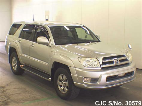 toyota surf 2003 2003 toyota hilux surf 4runner silver for sale stock no