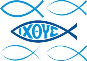 Christian symbols illustrated glossary christian fish or ichthys