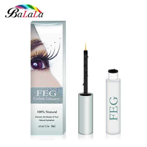 7 Best Products For Longer Lashes by Aliexpress Buy Feg Eyelash Growth Treatments Makeup
