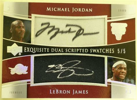 Mj Ud 2005 06 List 7 Mj Cards You Wished You Had Blowout Cards Forums